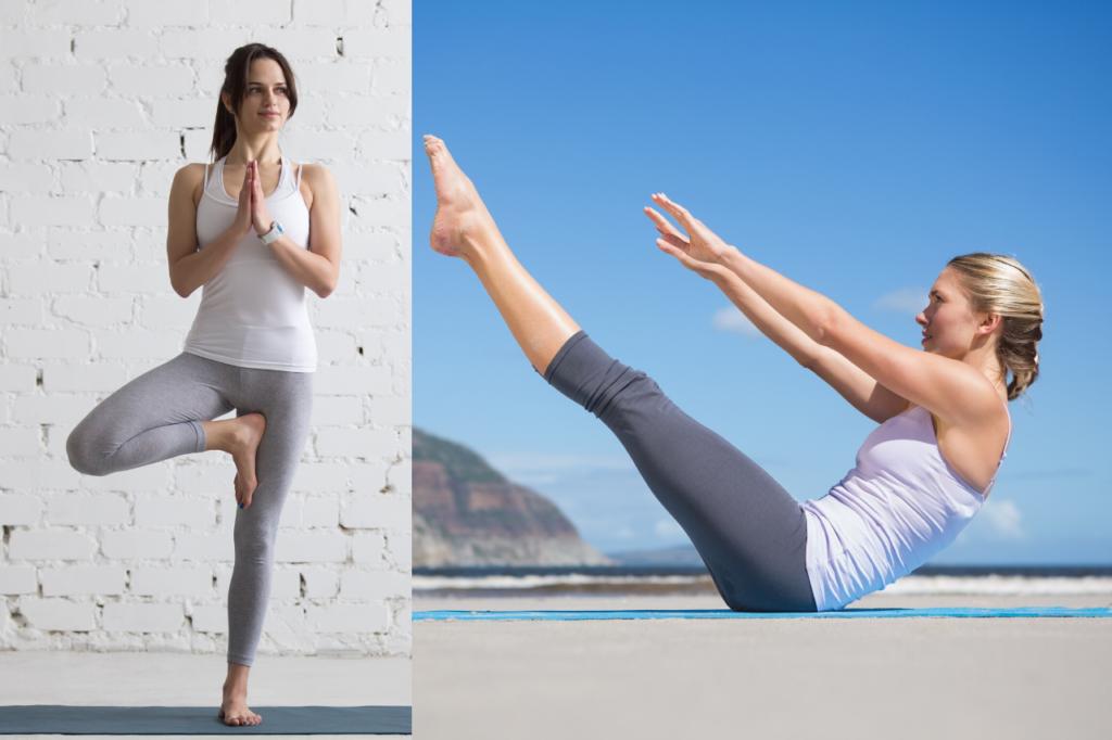 pilates oder yoga