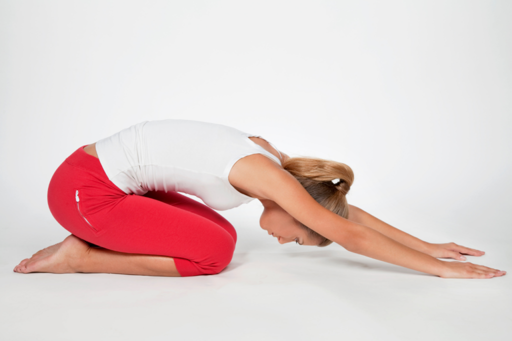 pilates rest position