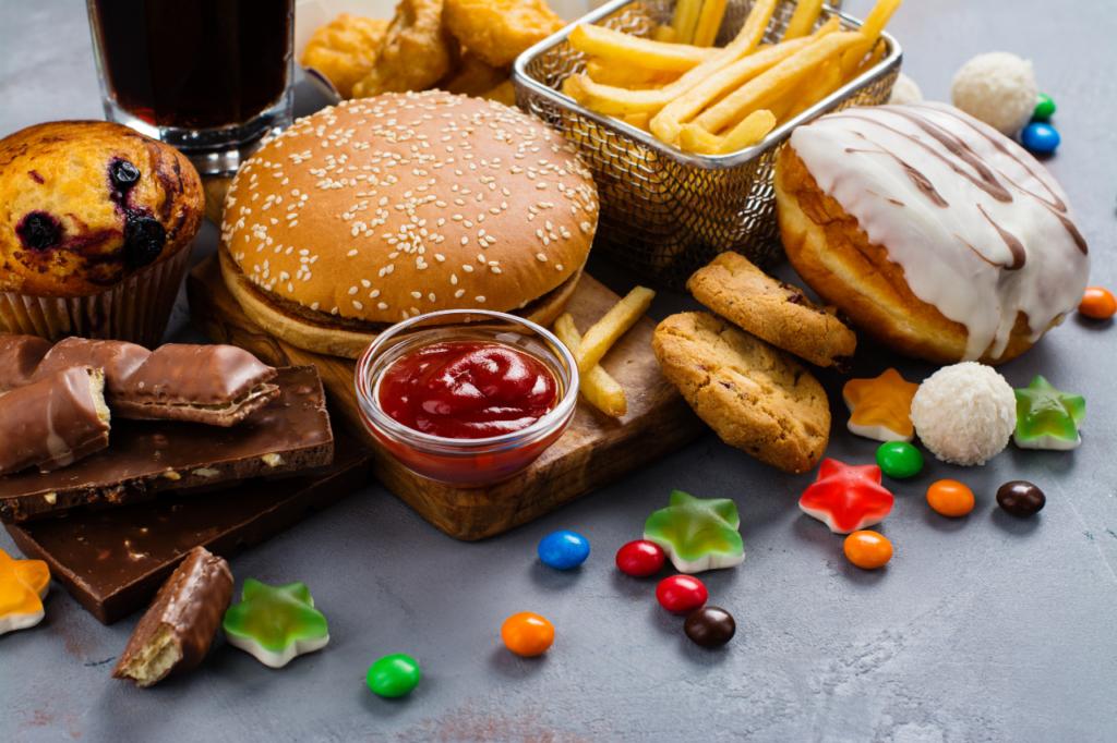 vorsicht bei fast food
